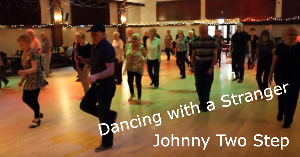Line Dance Dancing with a Stranger
