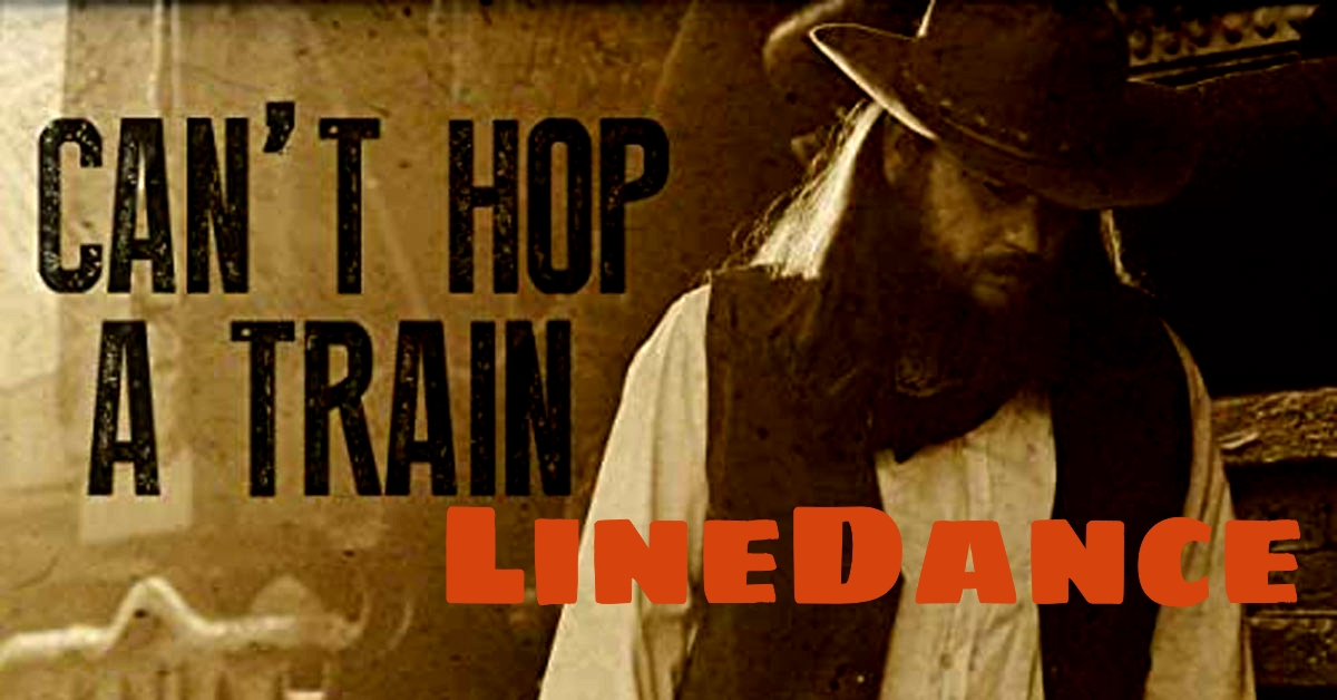 Line Dance Cant Hop A Train