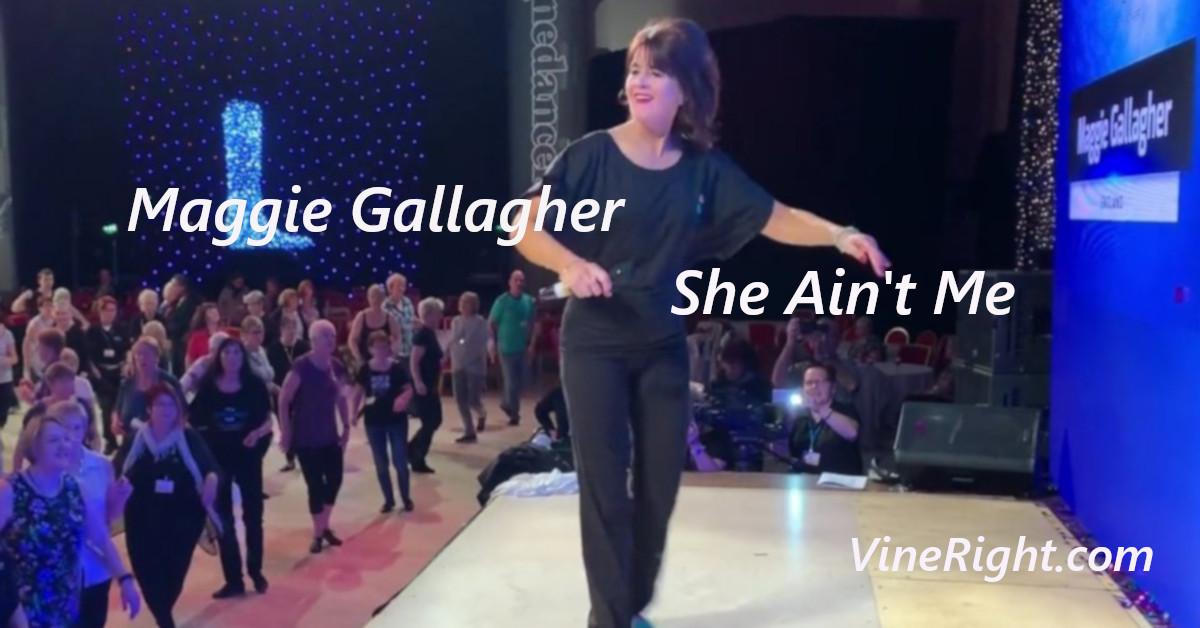 Line Dance She Ain't Me