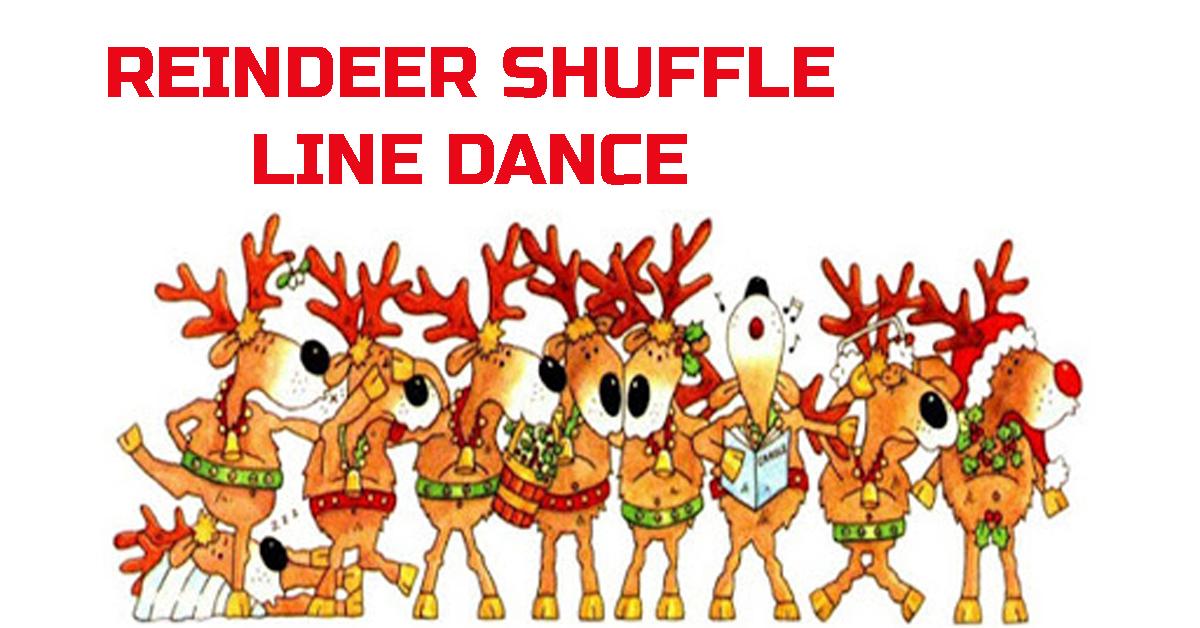 Line Dance Reindeer Shuffle