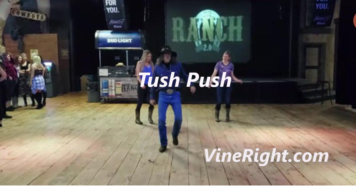 Line Dance Tyler does Tush Push