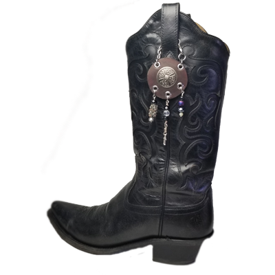 Boot Topper Leather & Steel