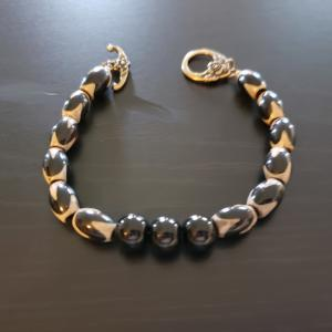Black and Tan Classic Bracelet