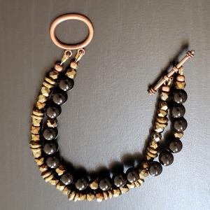 Black Bronze Bracelet