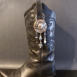 Bronze Cowgirl Charm