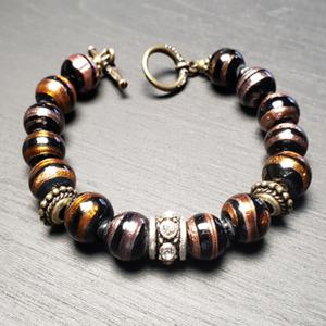 Brown Tiger Eye Beads Bracelet