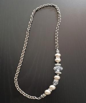 Champagne Swarovski Necklace