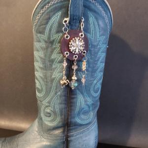 Crystal Cowgirl Charm