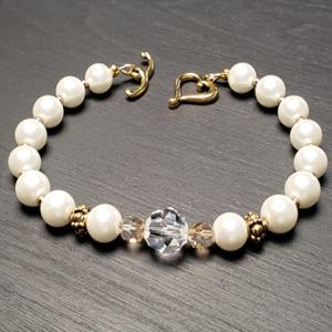 Elegant White Bracelet