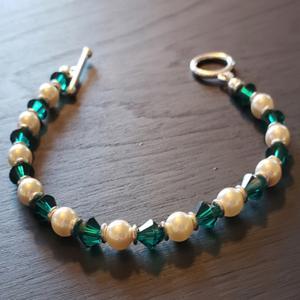 Emerald Crystals Bracelet
