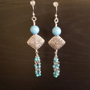 Fun  Turquoise Earrings