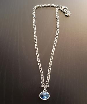 Lovely Blue Stone Necklace