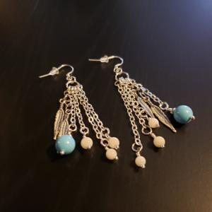 Lovely dangling earrings
