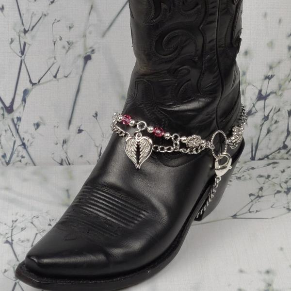 Angel Wings Boot Chain