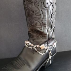 Pretty in Pink Boot Bling