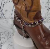 Purple Boot Bracelet