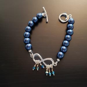 Rich Turquoise Eternity Bracelet