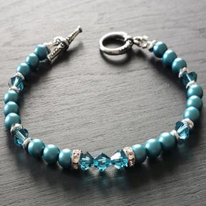 Swarovski Emerald Green Bracelet
