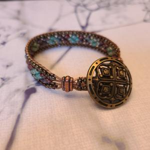 Tri Colored Bead Bracelet