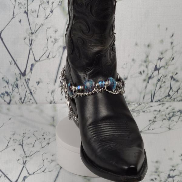 Tuquoise Brown Boot Bracelet