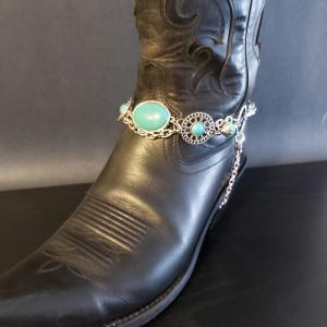 Turquoise Western Style Bootlet