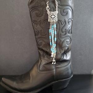 Turquoise Boot Topper