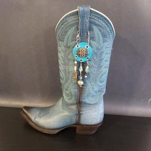 Turquoise Cowgirl Charm