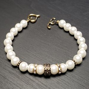 White Accented Bracelet